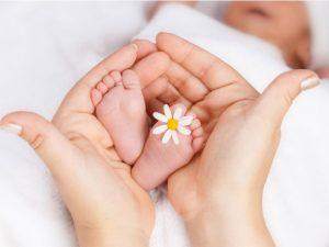 Tessuti delicati per la pelle dei neonati