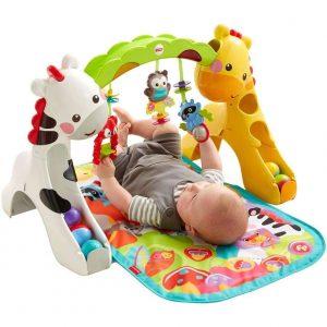Giochi per Neonati: a 3, 4, 5, 6 mesi. Un percorso guidato per lo